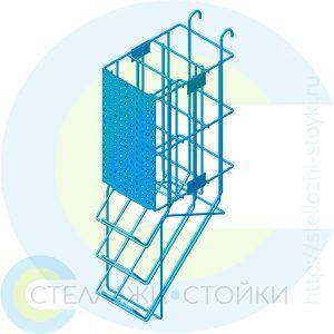 Трехярусяный гравитационный дисплей для банок