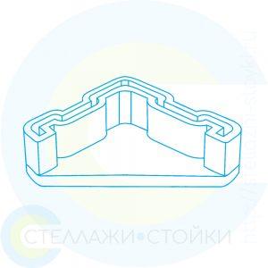 Подпятник пластиковый