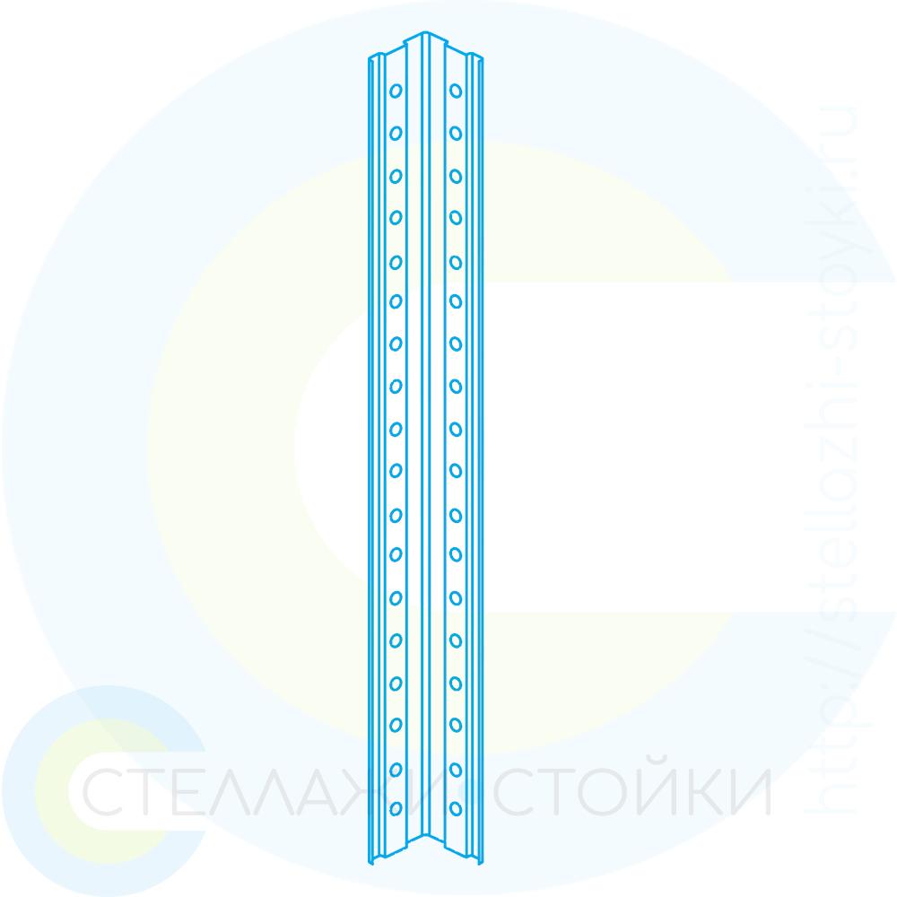 Стойка металлическая для стеллажа EVEREST-125